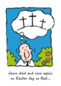 Pack Of 6 (With Envelopes) - Eh - Jesus Died And Rose Again (Pamphlet)
