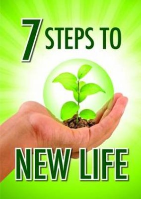 7 Steps to New Life Tracts (Pack of 50) (Tracts)