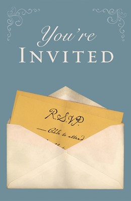 You're Invited (Pack Of 25) (Tracts)