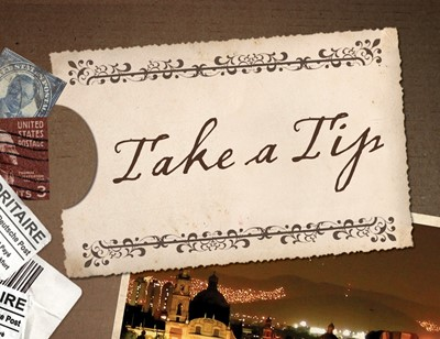 Take A Tip (Pack Of 25) (Tracts)