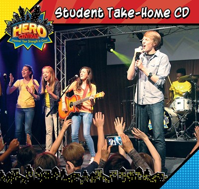 VBS Hero Central Student Take-Home CD (CD-Audio)