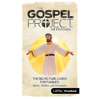 Gospel Project: Preschool Picture Cards, Summer 2018 (Cards)