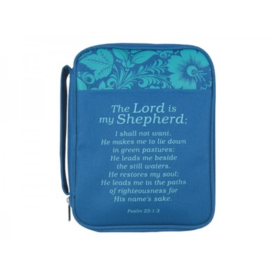 Bible Cover Lord Is My Shepherd Canvas Large