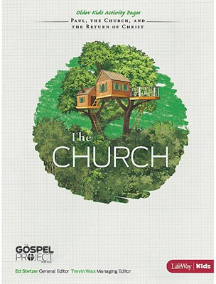 Church, The: Older Kids Activity Pages (Paperback)