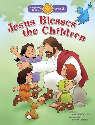 Jesus Blesses The Children (Paperback)