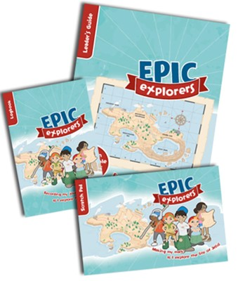 Epic Explorers Sample Pack (Mixed Media Product)