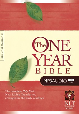 The NLT One Year Bible (MP3) (MP3 CDs)