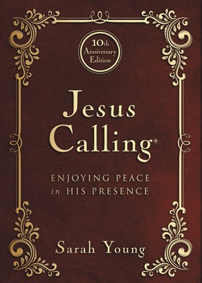 Jesus Calling - 10Th Anniversary Expanded Edition (Bonded Leather)
