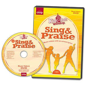 KidsOwn Worship Sing & Praise DVD Winter 2017 (DVD)