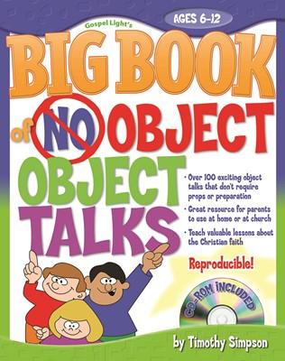 Big Book of No-Object Talks (Paperback/CD Rom)