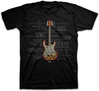 T-Shirt Amazing Guitar Adult Large