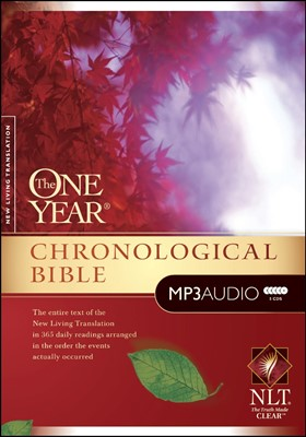 The One Year Chronological Bible (MP3) (MP3 CDs)