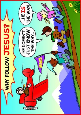 Tracts: Why Follow Jesus? 50-pack (Tracts)