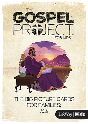 Gospel Project for Kids: Big Picture Cards, Summer 2016 (Cards)