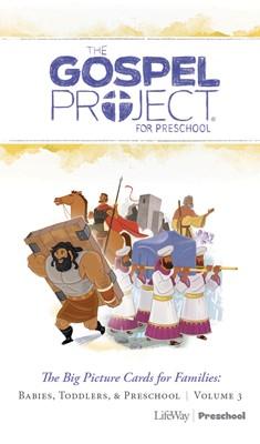 Gospel Project: Preschool Big Picture Cards, Spring 2019 (Cards)
