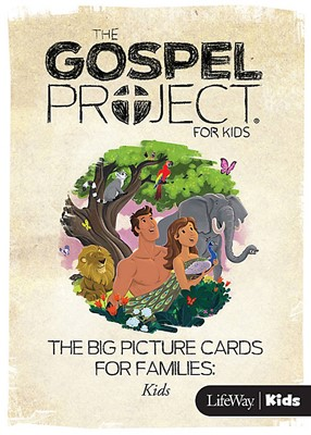 Gospel Project For Kids: Big Picture Cards, Fall 2015 (Cards)
