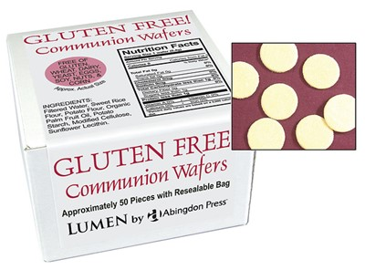 Communion Wafers, Gluten-Free (Box of 50) (General Merchandise)