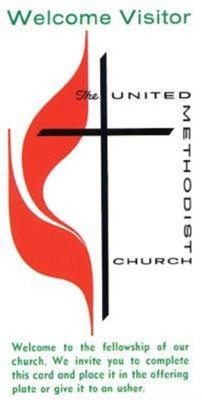 United Methodist Welcome Visitor Card (Pkg of 25) (Cards)