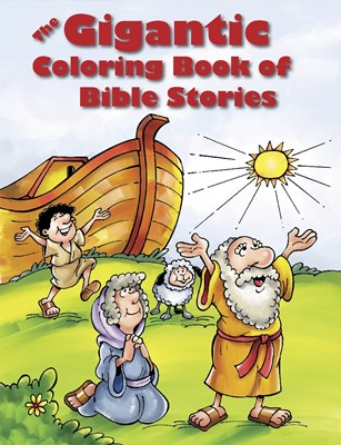 The Gigantic Coloring Book Of Bible Stories (Paperback)