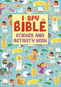 I Spy Bible Sticker and Activity Book (Novelty Book)