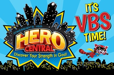 2017 VBS Hero Central Invitation Postcards (Pack of 24) (Postcard)