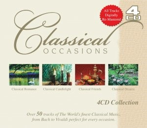 Classical Occasions 4CD (CD-Audio)