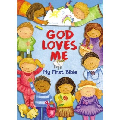 God Loves Me, My First Bible (Board Book)