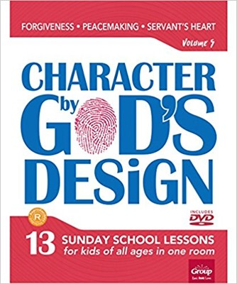 Character By God's Design Volume 5 (Paperback w/DVD)
