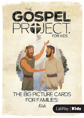 Gospel Project For Kids: Big Picture Cards, Spring 2017 (Cards)