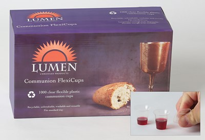 Communion Cups, Shatter Resistant 1 1/4