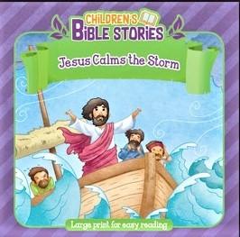Jesus Calms The Storm (Paperback)