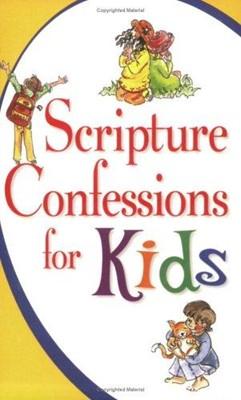Scripture Confessions For Kids (Paperback)