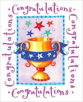 Congratulations (Hard Cover)