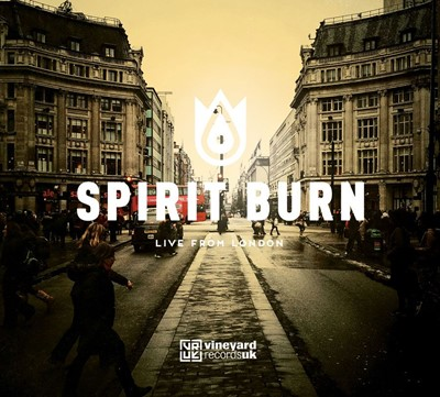 Spirit Burn (Live From London) CD