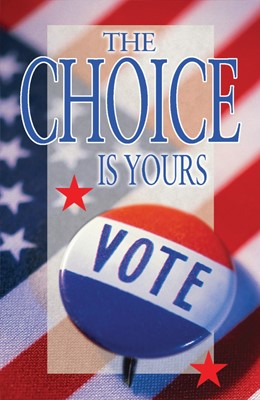 The Choice Is Yours (Pack Of 25) (Tracts)