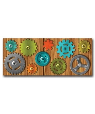 Factory Gears Plastic Backdrop (Other Merchandise)