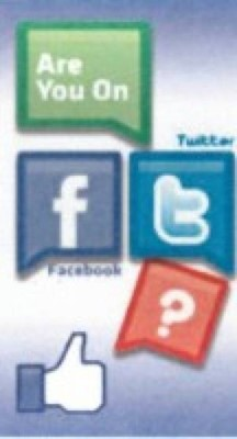 Are You On Facebook / Twitter (Pack of 25) (Tracts)