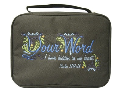 Bible Cover Your Word Lg