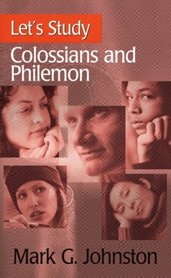 Let's Study Colossians & Philemon (Paperback/CD Rom)