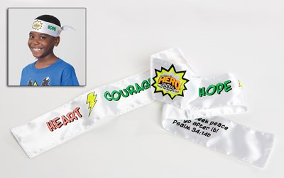 VBS Hero Central Colorize-Your-Own Tie-On Headbands (Miscellaneous Print)