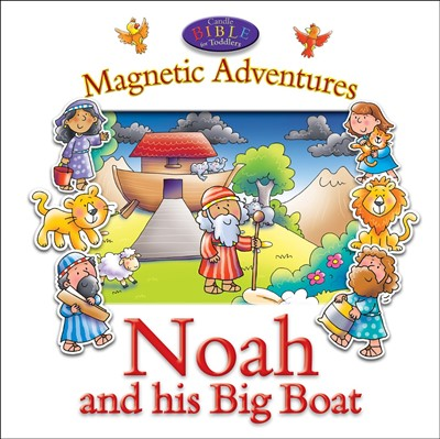 Magnetic Adventures - Noah And His Big Boat (Novelty Book)