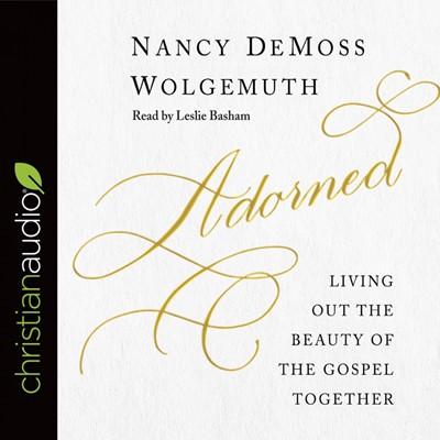 Adorned Audio Book (CD-Audio)