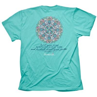 Cherished Girl Compass T-Shirt Large (General Merchandise)