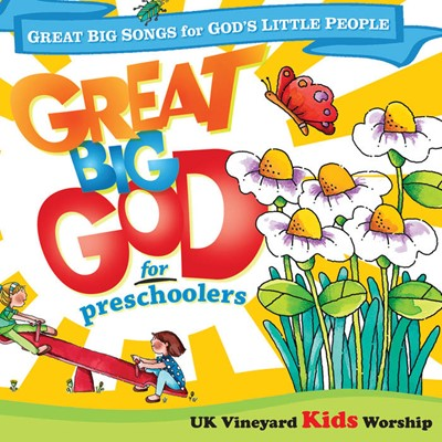 Great Big God For Preschoolers CD (CD-Audio)