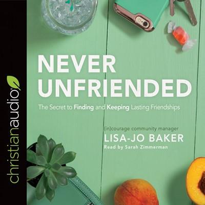 Never Unfriended Audio Book (CD-Audio)