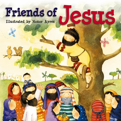 Friends Of Jesus (Board Book)