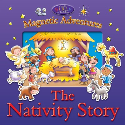 Magnetic Adventures - The Nativity Story (Novelty Book)