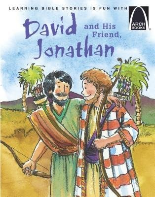 David And His Friend Jonathan   Arch Books (Poster)