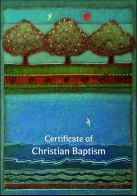 Cert of Christian Baptism B20A (Cards)