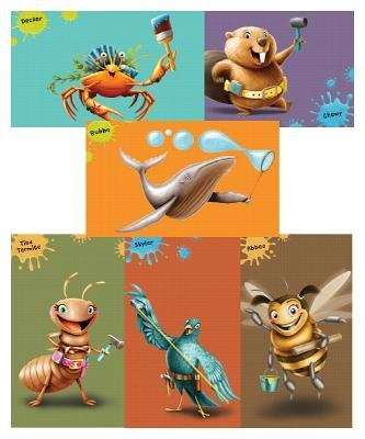 Maker Fun Factory Giant Bible Memory Buddy Posters (Set of 6 (Poster)